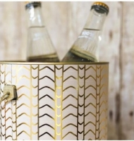 Upcycled Paint Can Ice Bucket