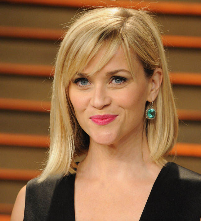 Reese Witherspoon's Asymmetrical Bob
