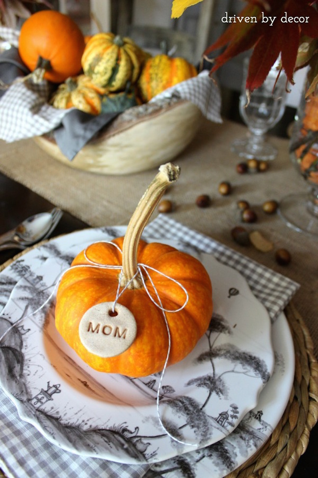31 chic thanksgiving table decor projects to delegate to Thanksgiving table decorations homemade