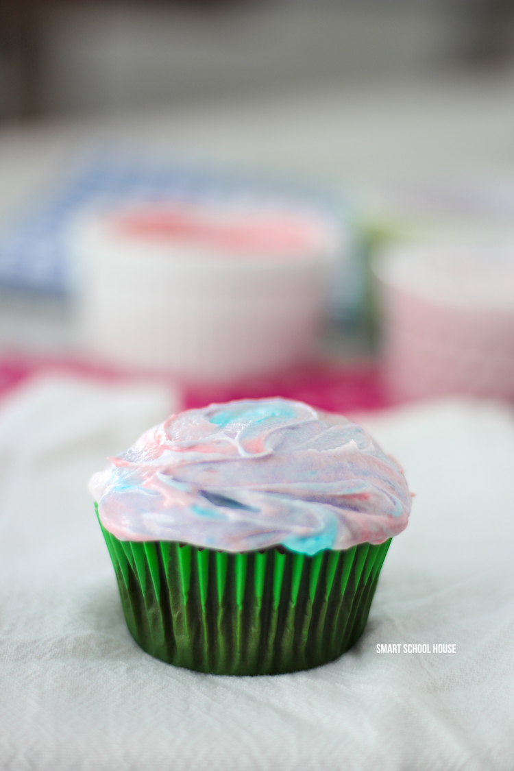 Fruity jelly crystals Frosting