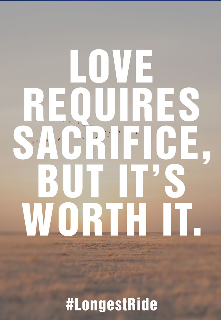 does love require sacrifice Ephesians 5:2, in the phrase christ    has    given himself, also contains a seed of the reason why love is so difficult love requires sacrifice,.